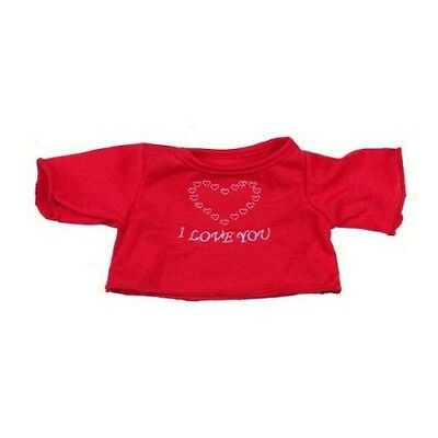 """Red """"I Love You"""" T-shirt"""