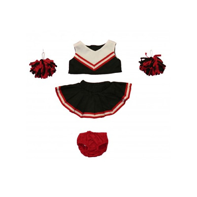 Black and Red Cheerleader