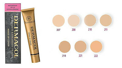 dermacol MAKE-UP IMPERMEABILE SPF 30 ipoallergenico Make-up cover 30 g
