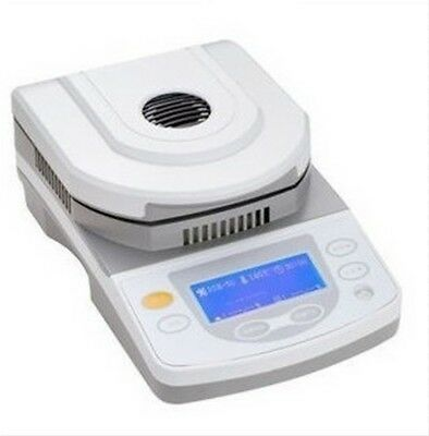 Digital Lab Moisture Analyzer with halogen heating 50g Capacity 1mg Readability