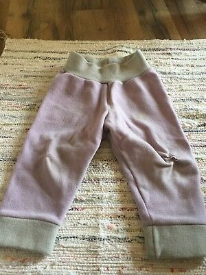 """Wild Child Woolies"" WCW M interlock wool Pants/longies"