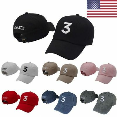 New Chance The Rapper 3 Dad Hat Hip Hop Baseball Cap -Adjustable Strapback