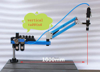 New Vertical Type Pneumatic Air Tapping Machine M3-M12 1000mm m