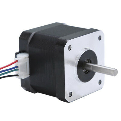 Stepper Motor Nema 17 Bipolar 40mm 64oz.in(45Ncm) 1.7A 4 Lead CNC 3D Printer