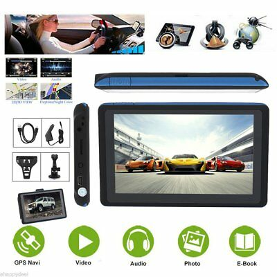 "5,0"" 8Gb Touchscreen Navigatore Satellitare Car Auto Gps Sat Mappa Fm Mp4 Ey"