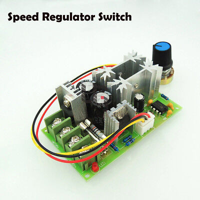 Top Universal DC10-60V PWM HHO RC Motor Speed Regulator Controller Switch 20A