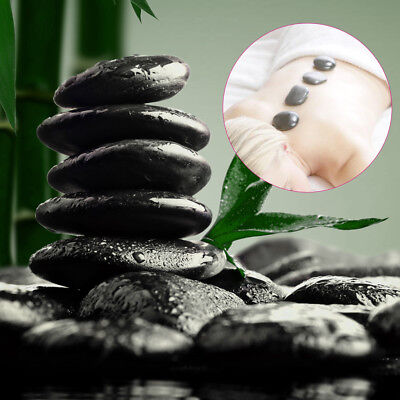 12pcs 3x4cm Specialty Basalt Rocks Massage Toe Spa Stone Set Therapy Pain Relief