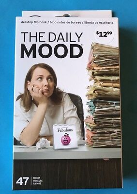 The Daily Mood Desktop Flip Book Office Table Flipchart With 47 Moods Free Post