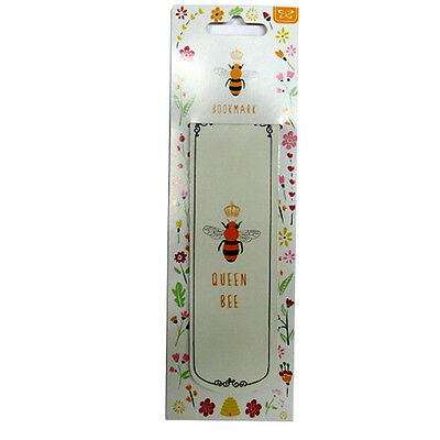 Magnetic Stylish Long Bookmark - Queen Bee Design - Size 140mm x 45mm