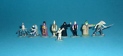 STAR WARS Micro Machines EPISODE 1 - CLASSIC CHARACTERS lot- 9 figures Hasbro