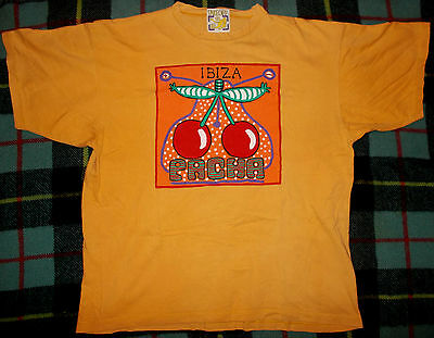 Pacha Ibiza original t-shirt year '89 XL/XXL old logo House 80 Classic Vintage
