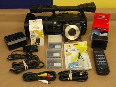 A Canon XHA1 HD  Video Camcorder with Bundle