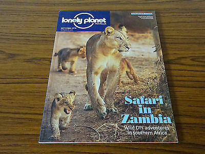 Lonely Planet Traveller: September 2016: Safari in Zambia