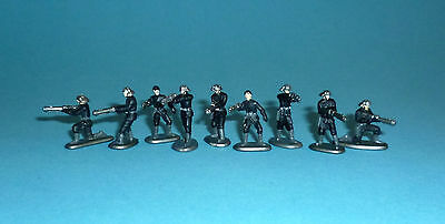 STAR WARS Micro Machines - IMPERIAL NAVAL TROOPERS lot - 9 figures Galoob