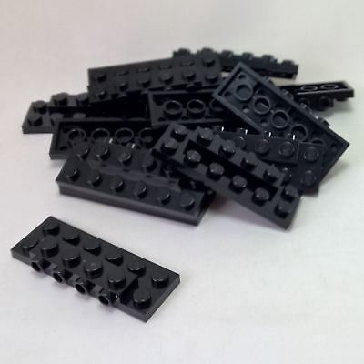 PLATES 2 x 2 x 2//3 with 2 Studs on Side White x10 Modified NEW LEGO