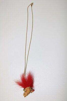 Russ Valentine's Day Cupid Vintage Troll Necklace