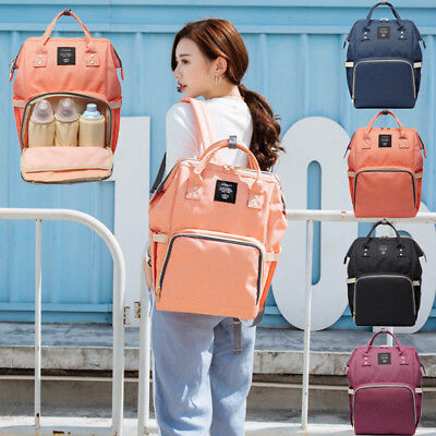Colorful LAND Mummy Maternity Nappy Diaper Bag Capacity Travel Backpack