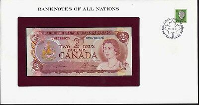 Banknotes of All Nations - Kanada 2 $ 1974 Pick 86 UNC (15600