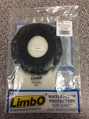 LimbO Adult Waterproof Cast And Dressing Protector - Half Leg Mp80 std Build