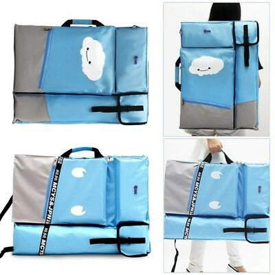Painting Storage Bag Travel Artist Drawing Board Holder Art Supplies Pouch Bag
