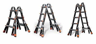 Little Giant Dark Horse Fibreglass Ladder - Tough Versatile Multi-Purpose Ladder