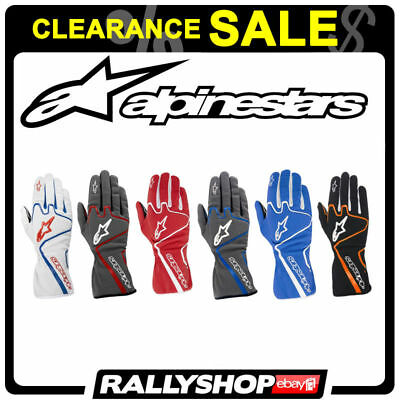 ALPINESTARS TECH 1-K RACE 1K Karting Kart Gloves Rally CLEARANCE SALE!