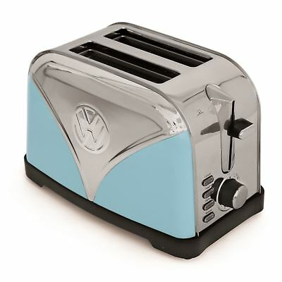 Official Volkswagen Toaster Blue VW Camper Van Stainless Steel Bread Toaster
