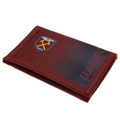 Official Licensed Football West Ham United F.c. Nylon Wallet