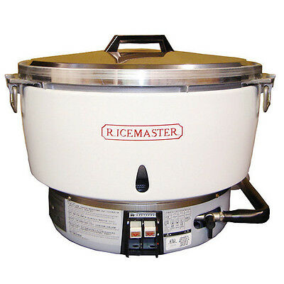 NIB Town Food Service Gas Rice Cooker #RM-55N-R. 55 Cup Capacity, Natural Gas