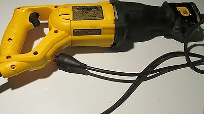 Used but fully operational DeWalt DWE304 Corded Reciprocating Saw