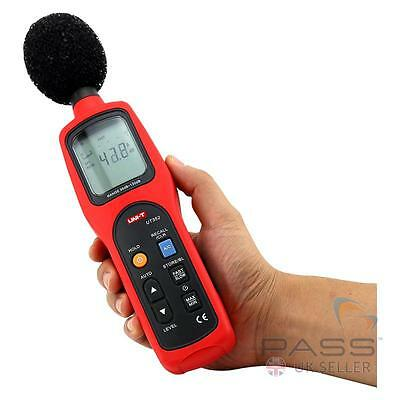 *NEW* Genuine UK UNI-T UT352 Type 2 Sound Level Meter - up to 130dB, 8,000 Hertz