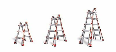 Little Giant Classic Aluminium Ladder, Versatile Telescopic Multi-Purpose Ladder