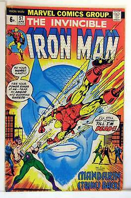 Iron Man (Vol 1) #  57 Fine (FN) Price VARIANT RS003 Marvel Comics BRONZE AGE