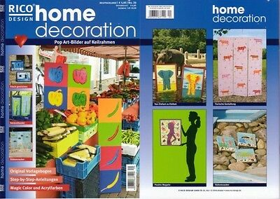 Home Decoration Nr 15 Weltreise Rico Design Eur 1 00 Picclick De