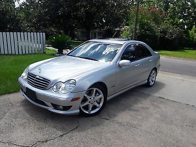2007 Mercedes-Benz C-Class C230 C230 SPORT CD SUNROOF BLACK LEATHER NEW TIRES STAGD RIMS WILL SHIP