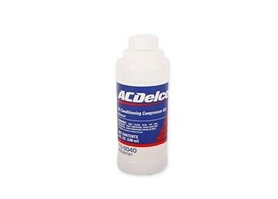 Lot(6) ACDelco 10-5040 Air Conditioning Compressor Oil - 8 oz Bottle