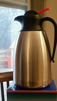 Stainless Steel Coffee Pot/Carafe 1.5 liter