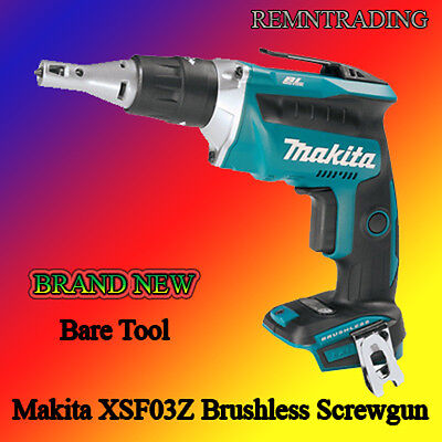 *Makita XSF03Z 18V Lithium-Ion Brushles Cordless Drywall Screwdriver (Bare Tool)