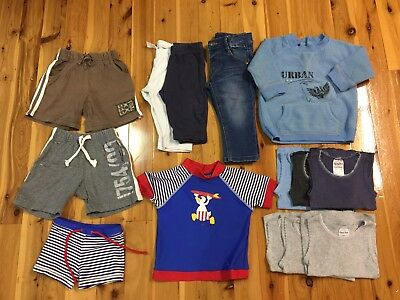 Bulk Boy Clothes Jumper Jeans Pants Singlets Swimwear Shorts Size 0