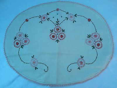 Vintage Nightdress Covers Hand Embroidered Cotton