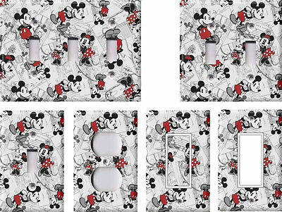Mickey Mouse Retro - Light Switch Covers Home Decor Outlet