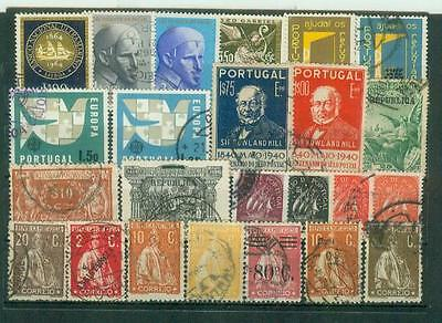 Lot Briefmarken aus Portugal