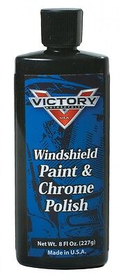 Genuine Victory Motorcycle Windshield Paint And Chrome Polish 8 Fl Oz 2862411