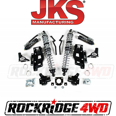 "JKS Jeep Wrangler JK 12-18 Front FOX Coilovers w DSC & Bracket Kit  3""-3.5"" Lift"