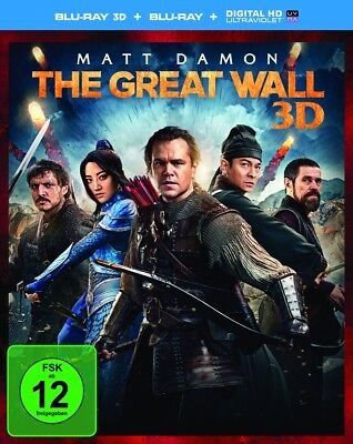 Zhang Yimou - The Great Wall, 1 Blu-ray