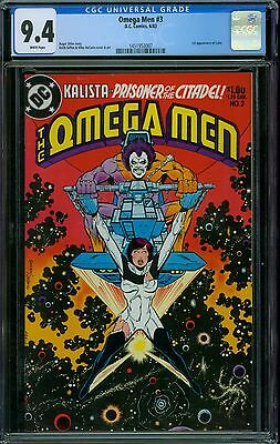 Omega Men 3 CGC 9.4 -  White Pages
