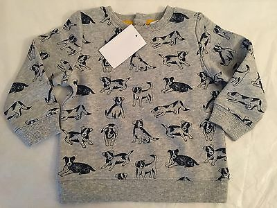 Baby Boden Puppy Sweater Baby Boys Size 6-12 Months ~NWT~
