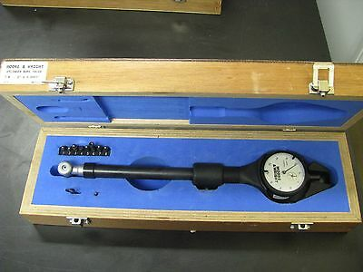 "Fowler/Bowers/Moore & Wright 7/8-2""/.0001"" Dial Bore Gage Set w/ case - FO20"
