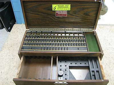 Starrett Webber HD84A1SS Heavy Duty Gage Block Set. Steel. - ET25