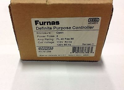~Discount HVAC~ MS-61356 - Furnas Definite Purpose Controller 40A 120V 2 Poles